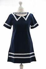 T-605 Gr S Uniform Kleid Dress blau Marine Kostüm costume Cosplay Anime Japan