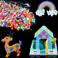 Hot Fun 1000pcs HAMA/PERLER BEADS for GREAT Kids Great Fun Multi colors