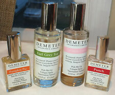 Lot  4 Demeter Fragrance Library Used: Earl Grey, Punch, Cotton Candy. Pumpkin