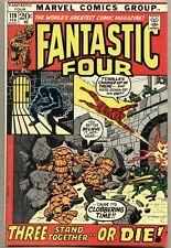 Fantastic Four #119-1972 fn Black Panther Klaw