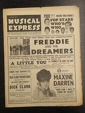 NME: New Musical Express: Feat Freddie and the Dreamers, April 2, 1965