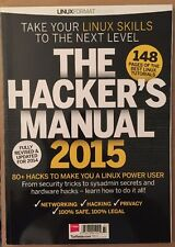 Hacker's Manual 2015 Linux Security Tricks Networking Privacy 2014 FREE SHIPPING