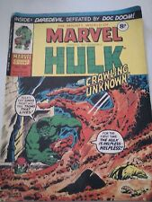 The Mighty World of Marvel Starring The Incredible Hulk Issue 134 UK Comic