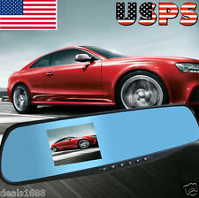"2.8"" TFT F-HD 1080P Auto Car DVR Rearview Mirrors Camera Video Recorder Dash Cam"