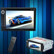 6,2 Pouces Ecran Tactile 2 Din Voiture Audio Video DVD VCD MP5 MP3 MP4 Player