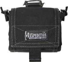 """Maxpedition MX209B Mega Rollypoly Black 4""""x4""""x2"""" Closed"""