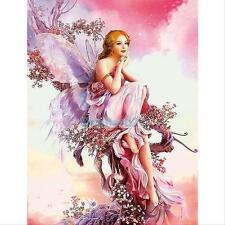 New 5D Fairy Butterfly DIY Diamond Embroidery Painting Cross Stitch Home Decor
