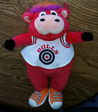 Vintage Chicago Bulls Benny the Bull NBA Basketball Mascot Stuffed Plush Toy