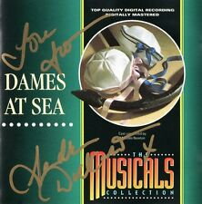 DAMES AT SEA - BRIAN CANT / SANDRA DICKINSON ETC.- CD + RARE ORIGINAL AUTOGRAPH