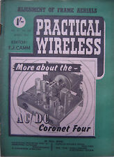 PRACTICAL WIRELESS- March 1954- Alignment Of Frame Aerials - Electronic Magazine