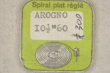 Hairspring balance AROGNO 60 Spirale bilanciere