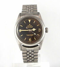 "ROLEX --- Vintage Gilt ""Tropical"" Brown Explorer 1016 - Circa 1967"