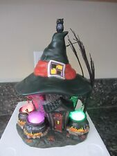 Dept 56 THREE WITCHES CAULDRON HAUNT  Halloween    #4030758   (716DJ)