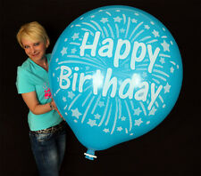 "1 x 35"" CATTEX Riesenluftballon HAPPY BIRTHDAY *GEBURTSTAG*FIREWORKS* (Ø 90cm)"