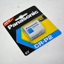 Camera Battery CR-P2 6V Panasonic Photo Lithium Battery  6.0V Japan