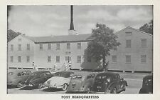 (LAM) P - Unknown Location - Army Post Headquarters - Exterior