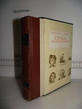 LIBRO Montanelli Gervaso L'ITALIA DEL SETTECENTO (1700-1789) 5^ed.1970