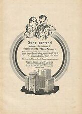 Y0597 Società Nazionale dei Radiatori - Pubblicità d'epoca - Advertising
