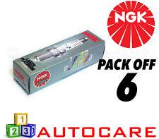 NGK Laser Platinum Spark Plug set - 6 Pack - Part Number: TR6AP-13E No. 4968 6pk