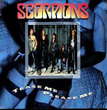 7inch SCORPIONS tease me please me GERMAN 1990 EX+