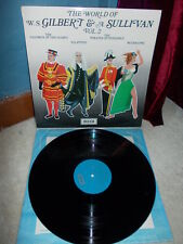 GILBERT & SULLIVAN: The World of (opera extracts) vol.2 / Decca stereo UK VG+