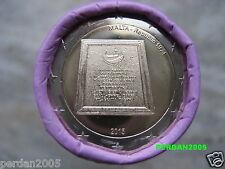 MALTA 2015 2 EURO FDC UNC 1974 PROCLAMAZIONE DELLA REPUBBLICA MALTE МАЛЬТА 马耳他