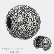 Authentic Pandora Sterling Silver Cosmic Stars With Clear CZ Clip  791286CZ