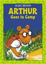 Arthur Goes to Camp -(Arthur Adventure Series) by Marc Brown, Good Book