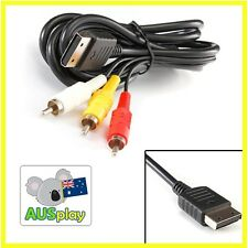 NEW AV CABLE for Sega Dreamcast Dream cast RCA TV Cable Adaptor