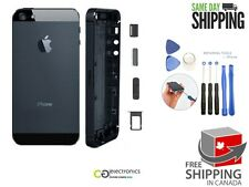 iPhone 5 Black Slate Replacement Housing Back Battery Door Cover Frame Assembly