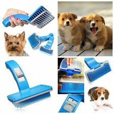 Self Cleaning Small Pet Dog Cat Grooming Clean Slicker Hair Brush Comb Fur Rake