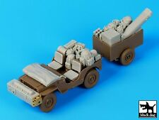 Black Dog 1/35 British Para Jeep After Drop Accessories Set (for Bronco) T35111