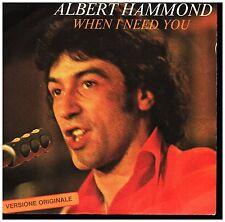17939 ALBERT HAMMOND  WHEN  I NEED YOU