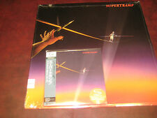 SUPERTRAMP FAMOUS LAST WORDS SHMCD JAPAN REPLICA OBI AUDIOPHILE CD PLUS A&M LP