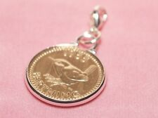 1940 77th Birthday Farthing coin bracelet charm ready to hang 1940 birthday gift