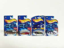 Lot of 4 Hot Wheels Mixed Assorted Carded Cars 2000's 1st edition  Ooz Coupe