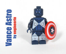 LEGO Custom - Vance Astro v2 - Marvel Super heroes captain america mini fig hulk