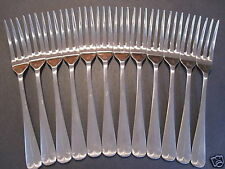 "12 Old English/King Edward 3 Tine Salad Forks 6.25"" Free Shipping Us Only"