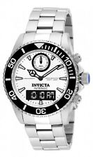 Invicta Pro Diver White Dial Stainless Steel Mens Watch 12470
