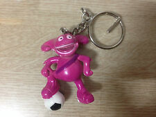 2002 FIFA KOREA JAPAN WORLD CUP MASCOT Figure Key Chain Ring Soccer Football