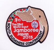 23rd world scout jamboree SOUTH SUDANESE CONTINGENT 2015