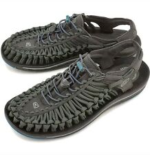 NEW Keen Uneek Flat Raven/Ink Blue Sport Sandal Mens US 11 Arch Support Walking