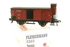 Fleischmann 5365 Gedeckter Güterwagen mit Bremserhaus, OVP (283)