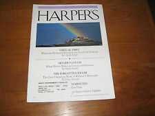1998 Harper's William S. Burroughs, Hitler's Bloody Couch, Virtual Tibet, ETC.