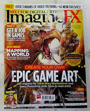IMAGINE FX + Free DownLoad April 2016 CREATE EPIC GAME ART Warhammer MAPPING Job