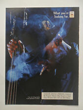 1998 Print Ad Camel Cigarettes ~ Blues Cello Player
