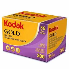 AU - 3 Rolls Kodak GOLD 200 35mm 36exp Color Print Film (Exp. 2018.04)