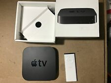 Apple TV 3rd Gen 1080p HDMI Streamer MD199LL/A with Old Apple remote