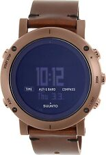 Suunto Men's Essential SS021213000 Brown Leather Quartz Watch