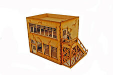 WW EUROPE FACTORY OFFICE WORKSHOP 28mm Laser cut MDF i002